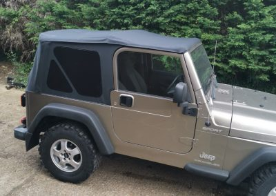 Jeep new Roof